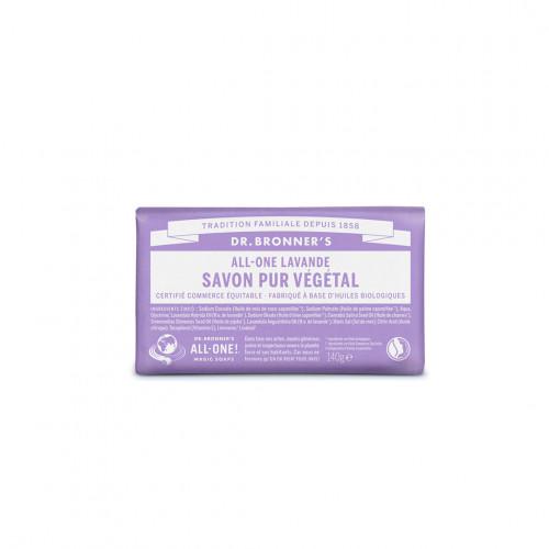 Pain de savon bio lavande - dr bronner's - paulette store