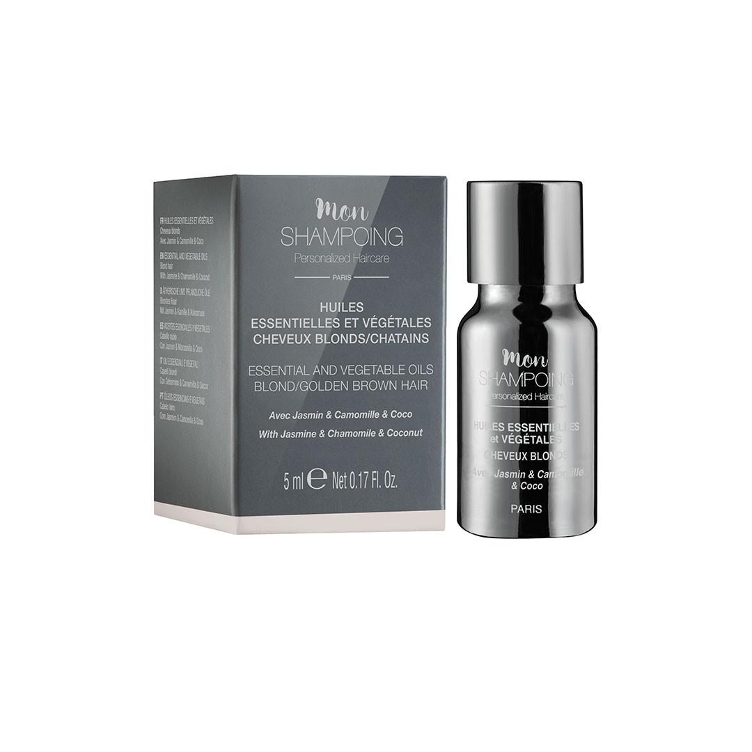 booster pour cheveux blonds aux huiles essentielles et végétales - mon shampoing - Paulette store