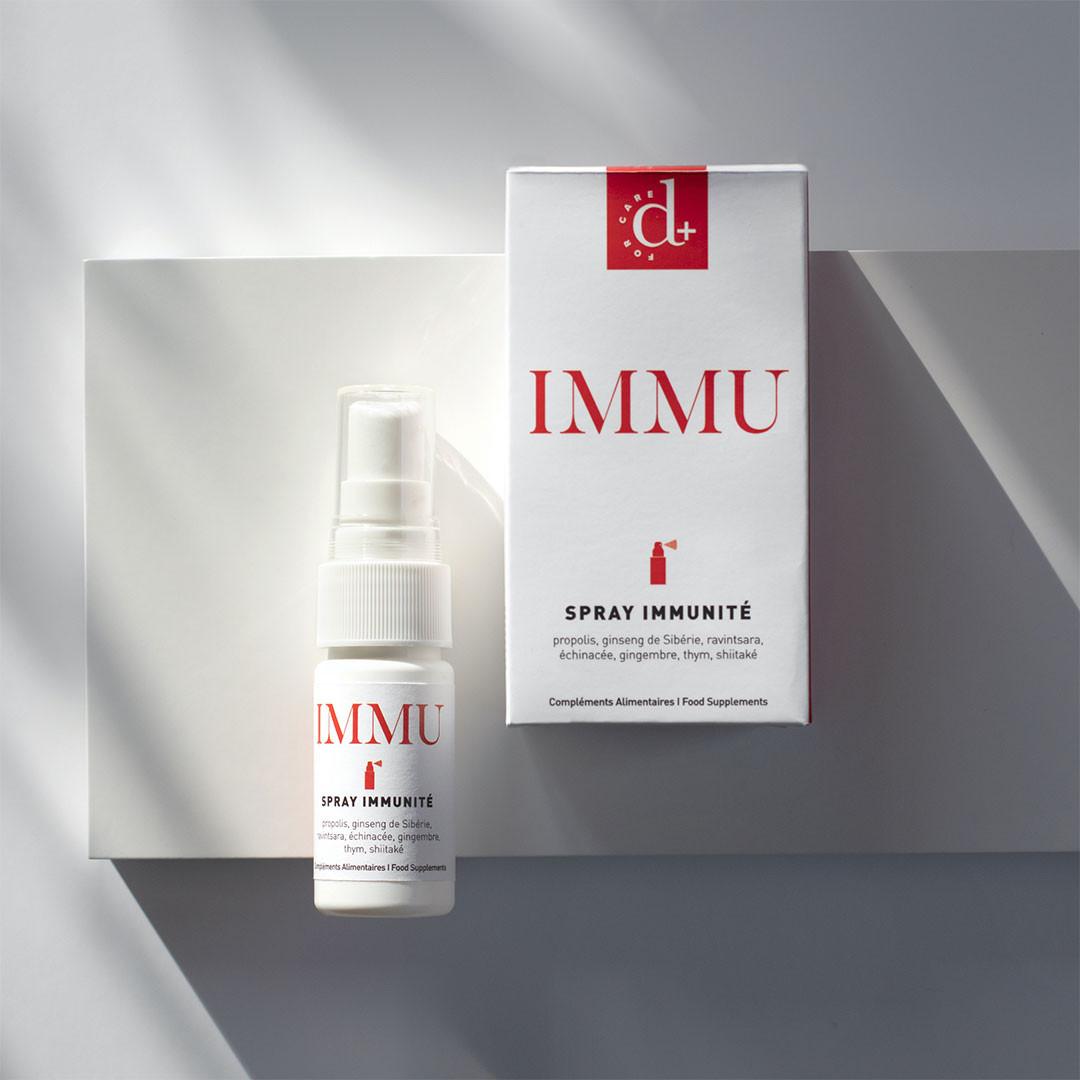 Immu Cure 1 Mois - D Plus For Care - Booster d'immunité - Paulette Store