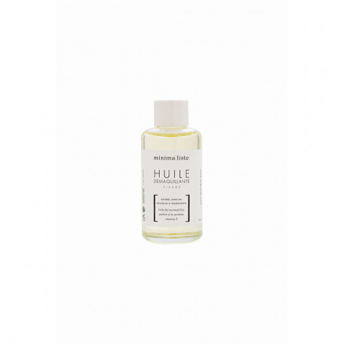 huile démaquillante visage- Minimaliste - naturel & bio - made in france - paulette store