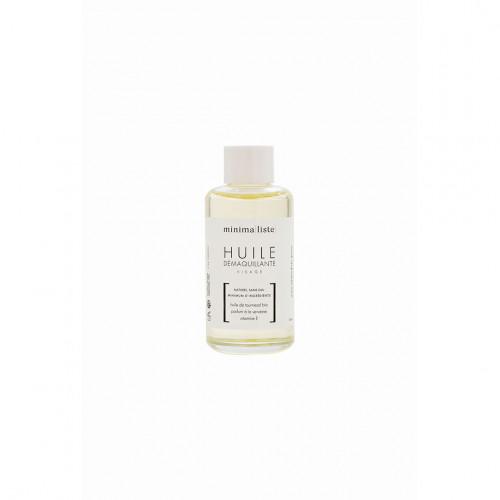 huile démaquillante visage- Minimaliste - naturel & bio - made in france - paulette store