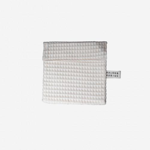 Pochette de transport pour cosmétiques solides ou cotons lavables - malou & marius - paulette store