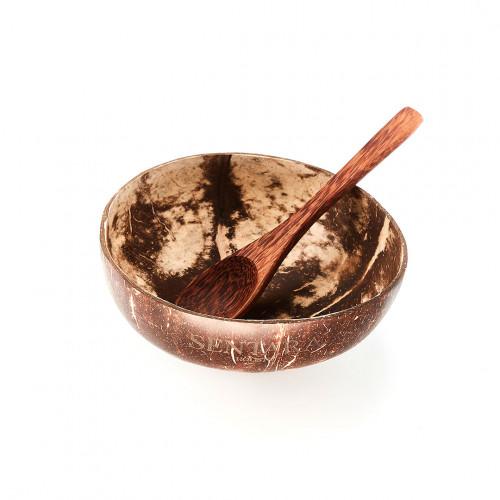 Coco Bowl - Sentara Holistic - noix de coco 100% naturelle, taillée et polie à la main - Paulette Store