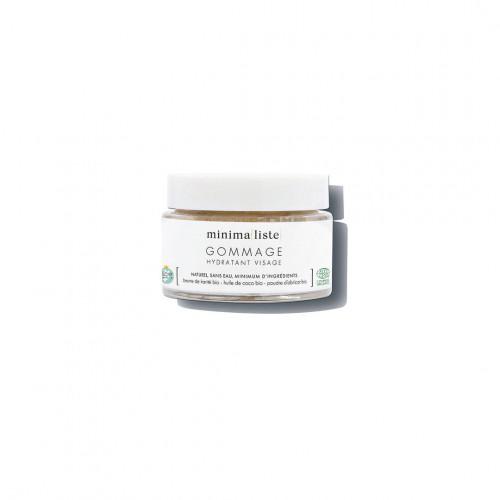 gommage hydratant visage - minimaliste - naturel & bio - made in france - paulette store