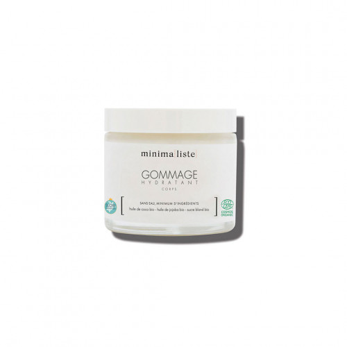 gommage hydratant corps - minimaliste - naturel & bio - made in france - paulette store