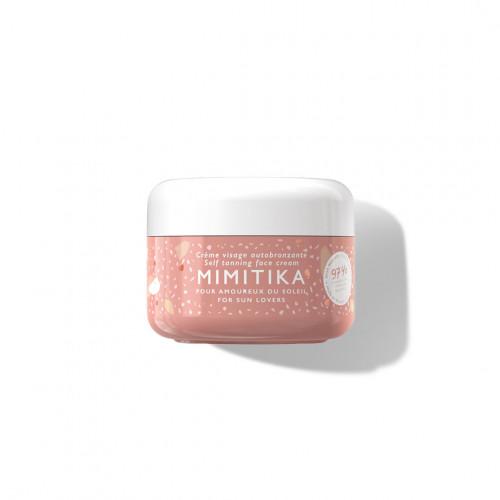Crème visage autobronzante - mimitika - paulette store