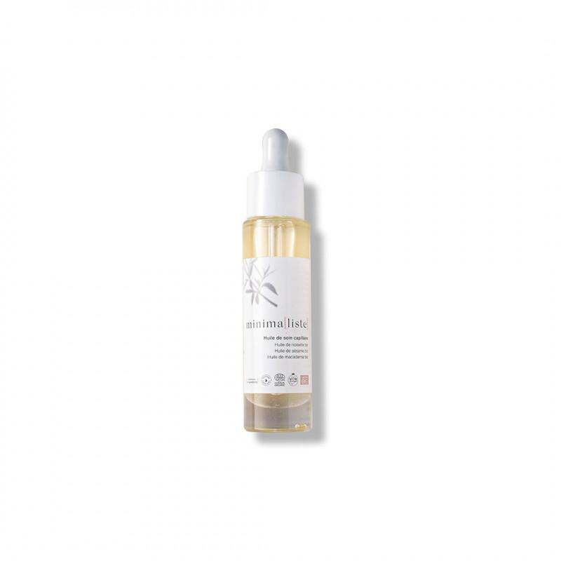 huile de soin capillaire - minimaliste - naturel, bio & fait en france - Paulette Store