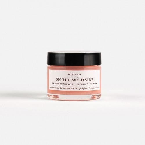 masque exfoliant - on the wild side - naturel, bio & fait en france - paulette store