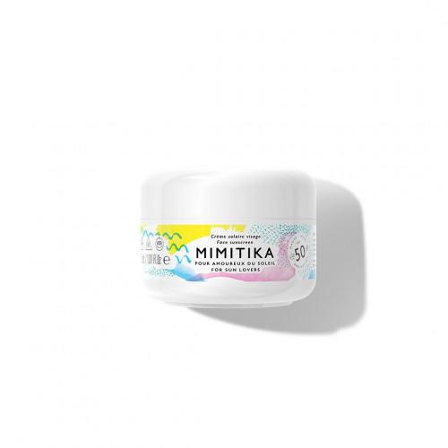 Crème Solaire Visage SPF50 -Mimitika - Paulette Store