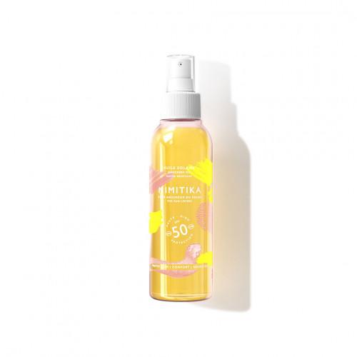 Huile solaire SPF50 - Mimitika - Paulette Store