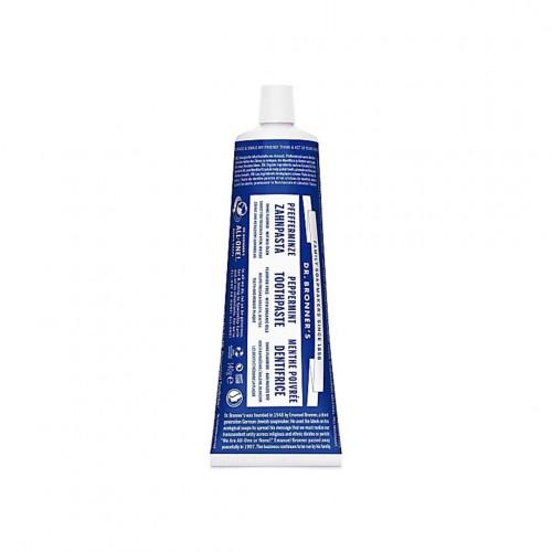 dentifrice bio menthe poivrée - Dr Bronner's - Paulette Store