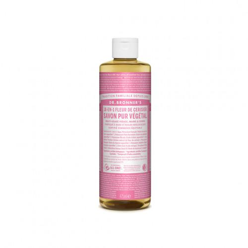 savon liquide bio fleur de cerisier - Dr Bronner's - Paulette Store