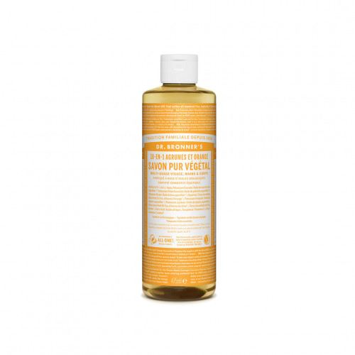 Savon Liquide Bio Agrumes-Citron - Dr Bronner's - Paulette Store