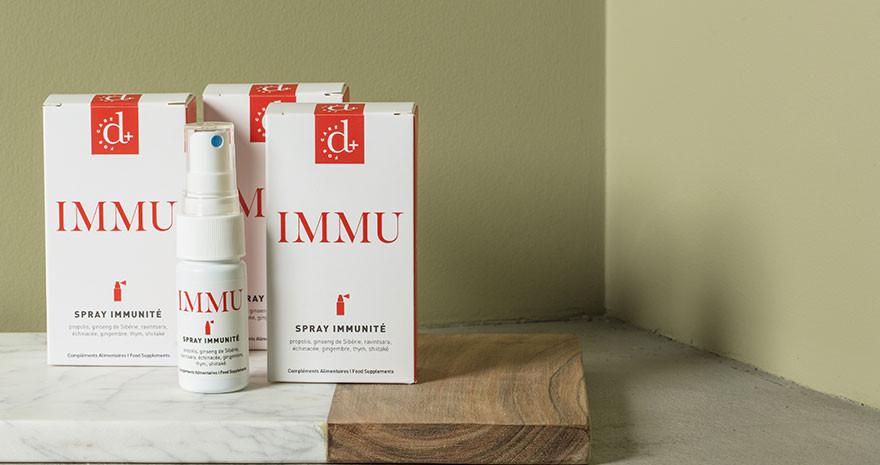 Compléments Alimentaires Naturels - Immunité - Immu - Paulette Store