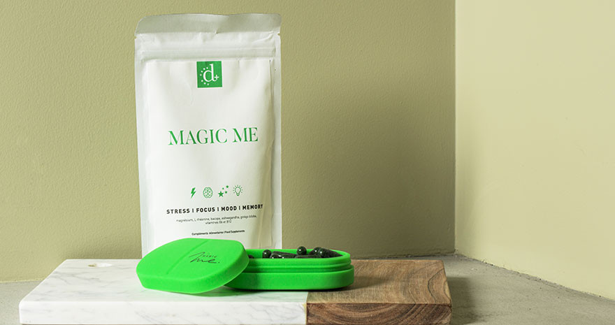 Compléments Alimentaires Naturels - Anti-Stress - Magic Me - Paulette Store