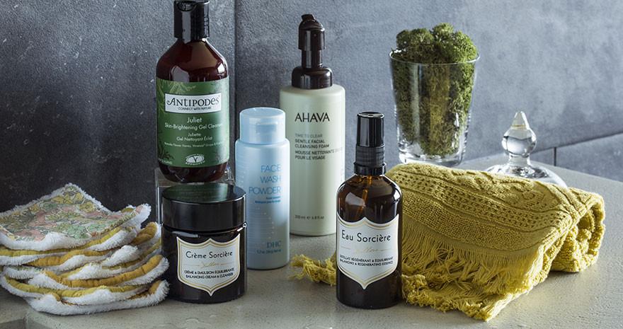 Nettoyant visage - Gel nettoyant, mousse nettoyante, crème nettoyante & poudre nettoyante – Paulette Store